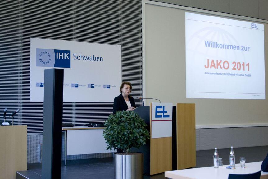 Erhardt Leimer Blickt Auf Ein Erfolgreiches Jahr 2011