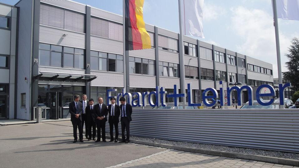 Japanische Delegation Besucht Erhardt Leimer Augsburg