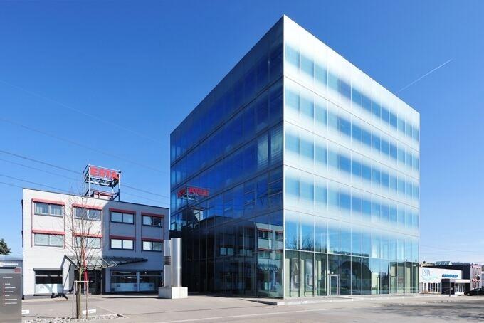 Der ESTA-Neubau in Senden, Foto: ESTA Apparatebau