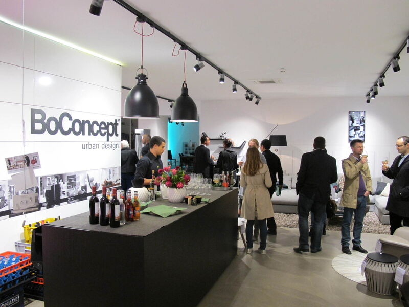 boconcept lounge event in der fu g ngerzone augsburg. Black Bedroom Furniture Sets. Home Design Ideas