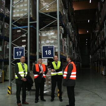 Hochstapler Im Containerdepot Im Gvz Augsburg B4b
