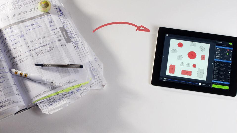 Praktische app tische reservieren mit steward kempten for Praktische tische