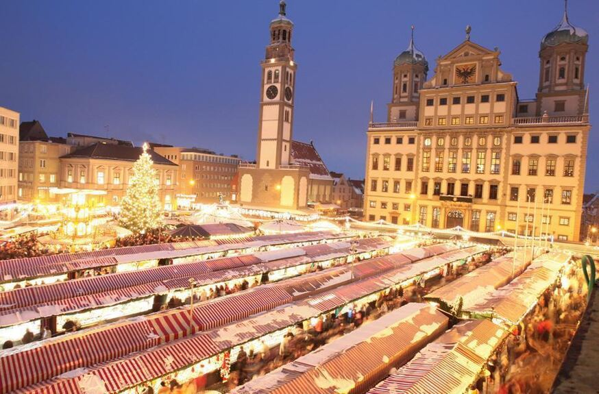 der augsburger christkindlesmarkt 2014 augsburg b4b schwaben. Black Bedroom Furniture Sets. Home Design Ideas