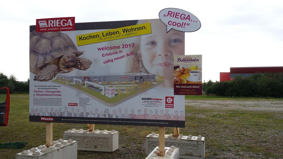 RIEGA baut neuen Standort in Augsburg-Lechhausen für 7 Millionen ... | {Küchencenter 30}