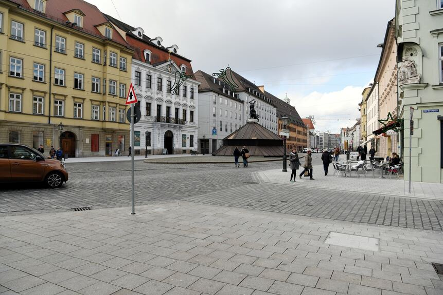 Baustelle in der augsburger maxstra e abgeschlossen augsburg b4b schwaben - Mobel um augsburg ...