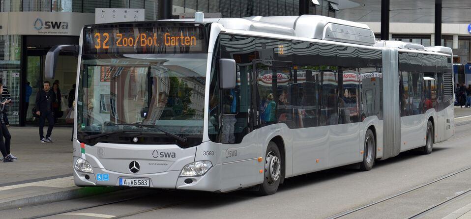 stadtwerke augsburg vergr ern ihre busflotte mit zehn weiteren erdgas fahrzeugen augsburg. Black Bedroom Furniture Sets. Home Design Ideas