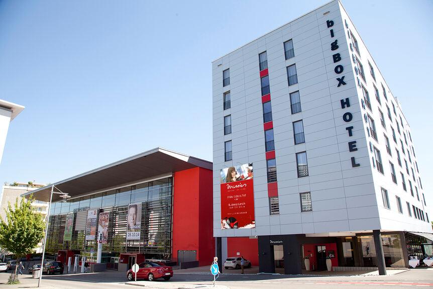 bigbox hotel kempten beh lt vier sterne kempten oberallg u b4b schwaben. Black Bedroom Furniture Sets. Home Design Ideas