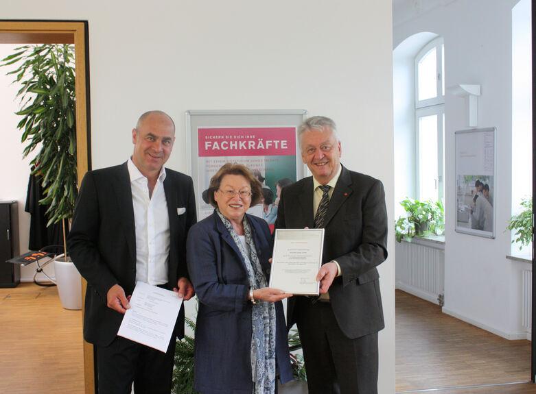 Erhardt Leimer Stiftet Unternehmensstipendium Hochschule