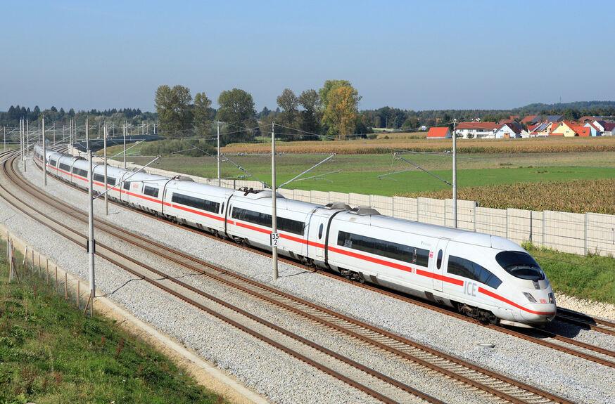 Bahn Sichert Ice Verbindung Nürnberg Augsburg Augsburg