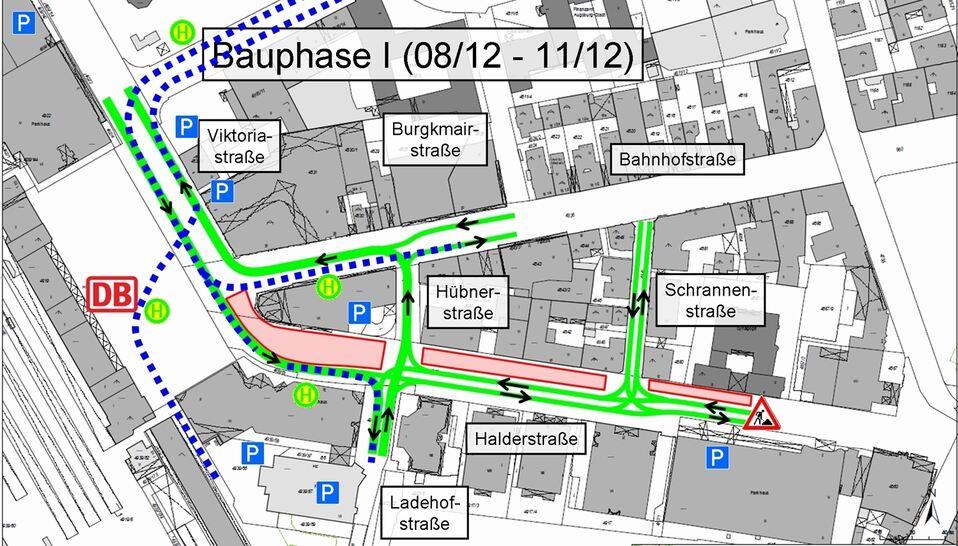 Bahnhof Jetzt wird der Tunnel gebaut Stadtwerke Augsburg projekt