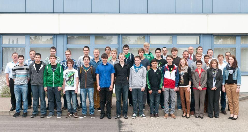 Startschuss für 26 neue Karrieren, Bosch und Siemens