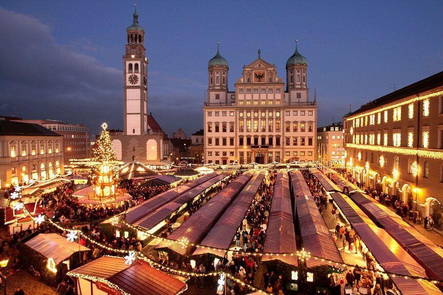 Ab Heute Wieder Am Weihnachtsbaume Stadt Augsburg Augsburg