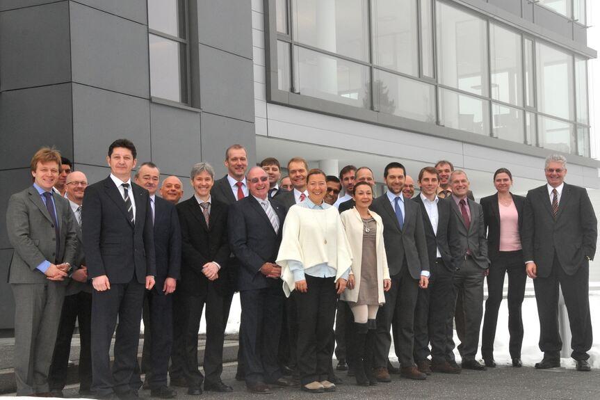 Weltweite Zusammenkunft bei BWF in Offingen; BWF Offermann ...