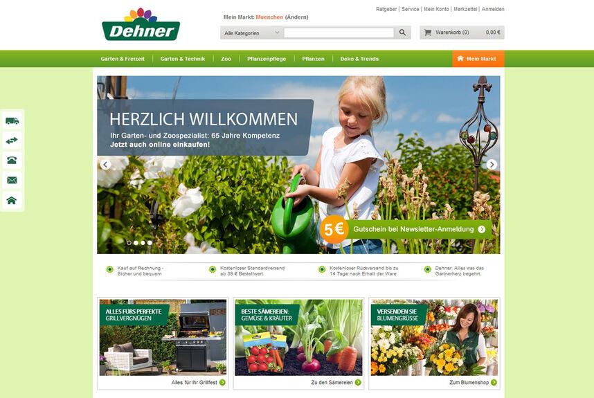 Dehner 20 Online Shop Für Das Gartencenter Donau Ries B4b Schwaben