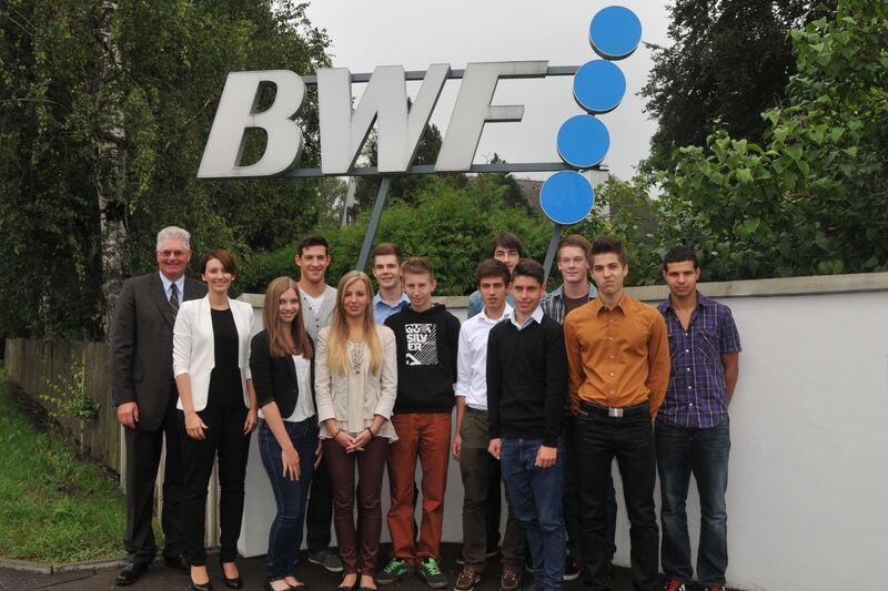 BWF Group begrüßt Azubis - Günzburg - B4B Schwaben