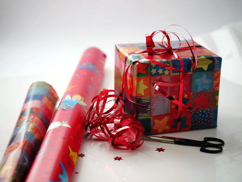 Geschenke mit herz