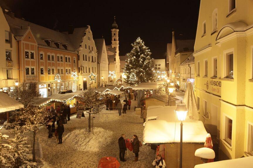 Weihnachtsmarkt Aichach.Advent In Aichach Aichach Friedberg B4b Schwaben