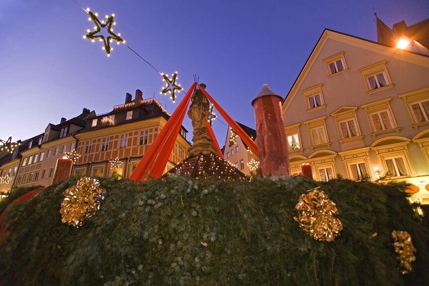 Wo Ist Der Größte Weihnachtsmarkt.Weihnachtszauber In Kaufbeuren Kaufbeuren Ostallgäu B4b Schwaben