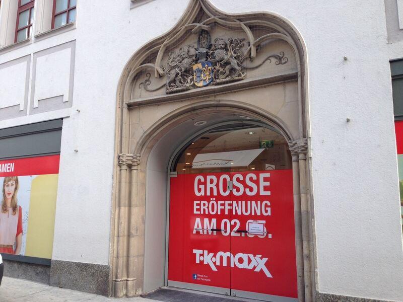 TK Maxx Augsburg eröffnet voraussichtlich im Mai - Augsburg - B4B ...