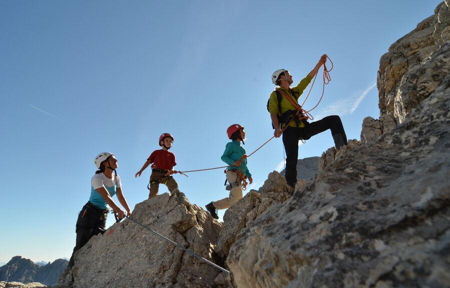 Klettersteig Salewa : Salewa klettersteig oberjoch bad hindelang youtube