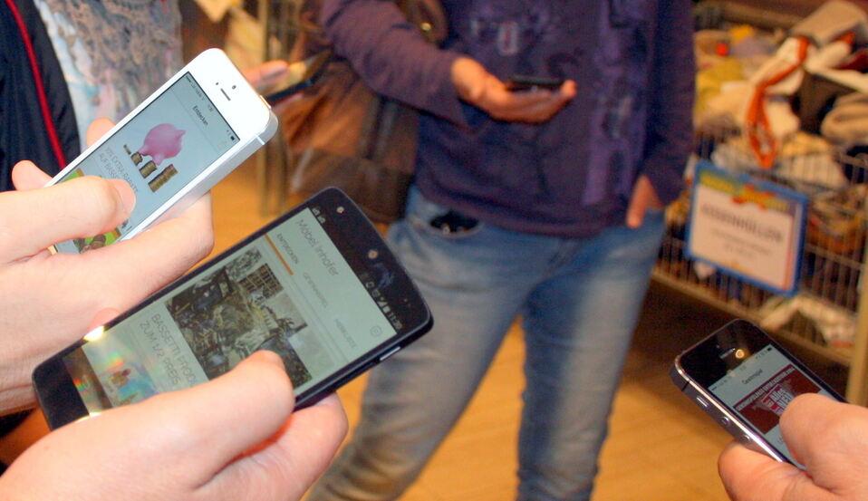 Pilotprojekt So Nützen Smartphones Möbel Inhofer Neu Ulm Ulm