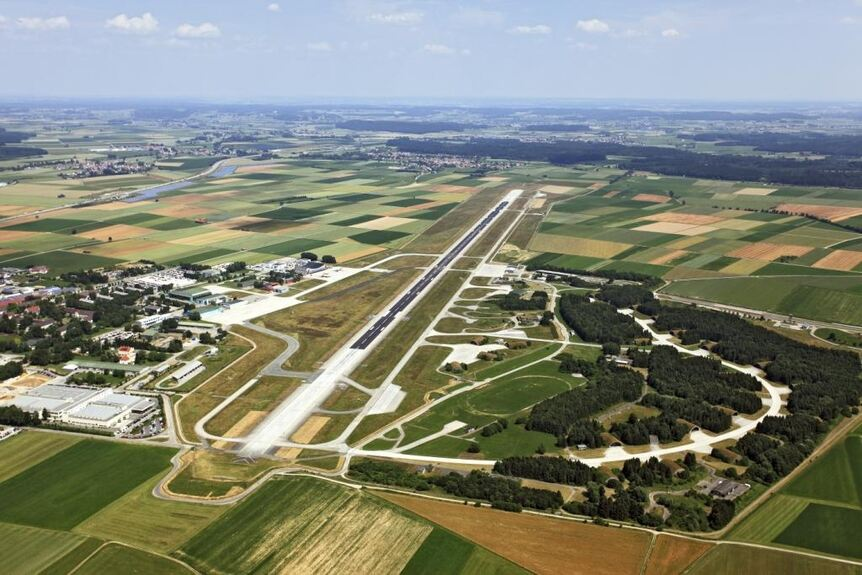 Flughafen Memmingen Stellt Im Sommer 2019 Den Flugbetrieb