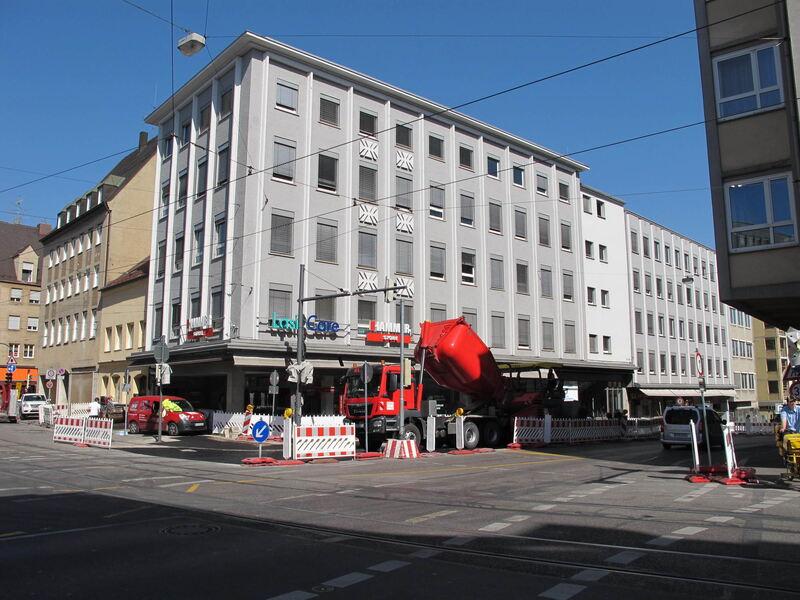 Baustellen In Augsburg
