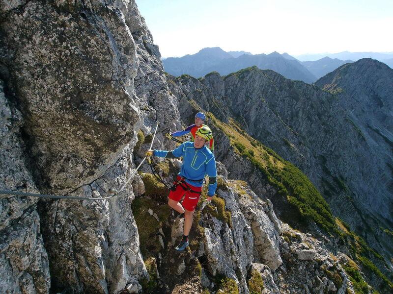 Klettersteig Salewa : Salewa klettersteig familientage juni in