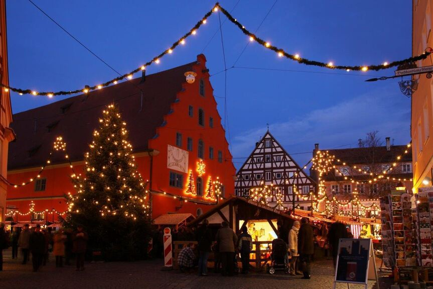 Weihnachtsmarkt Gundelfingen.Christkindlesmärkte 2016 Nordschwaben Feiert Wochenends Dillingen
