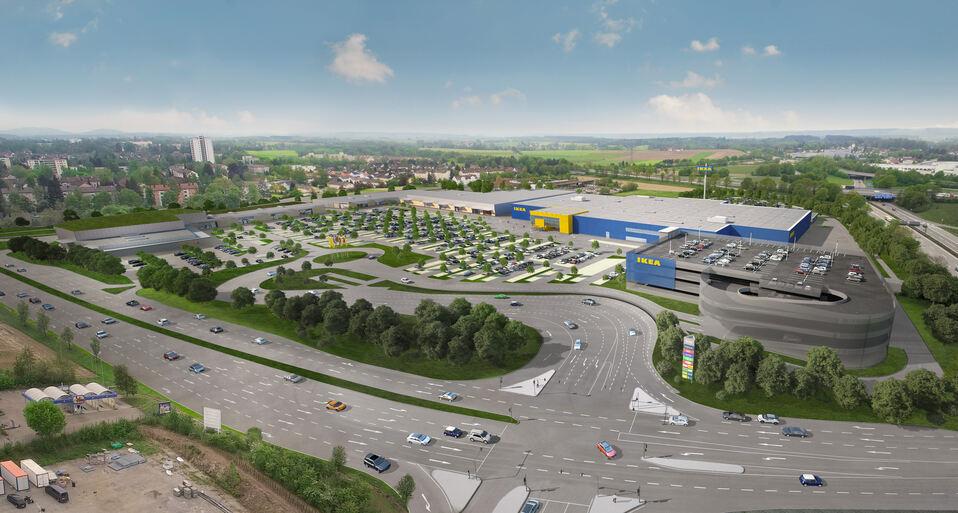 so soll der neue ikea in memmingen aussehen foto ikea deutschland gmbh co - Ikea Lebensmittelmarkt