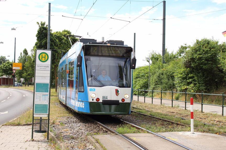 Straßenbahnlinie 2 Fährt Ab Heute Wieder Nach Haunstetten Nord