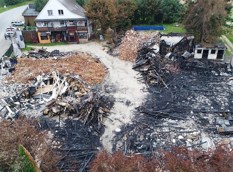 Brand in Western-City: Kripo Augsburg vermutet Brandstiftung