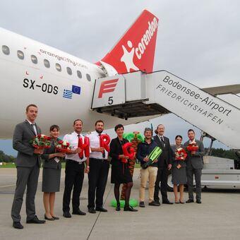 Flugziele Friedrichshafen
