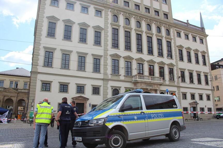 Augsburg Bombendrohung